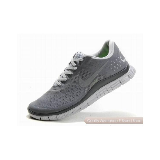 Nike Free 4.0 V2 Mens Running Shoe Grey