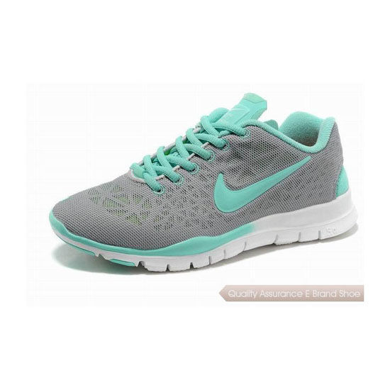 Nike Free TR Fit 3 Breathe Womens Running Shoe Grey Blue