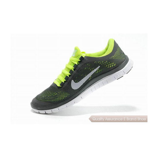 Nike Free 3.0 V5 Mens Running Shoe Dark Grey Green