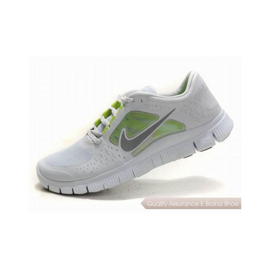 Nike Free Run+ 3 Mens Running Shoe Grey Silver