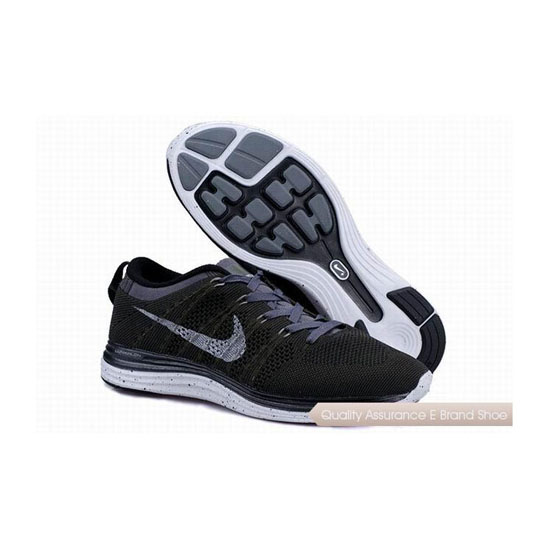NIKE FLYKNIT 1 Gray White Mens Sneakers