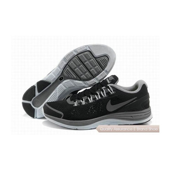 Nike Lunar Glide +4 Black Mens Sneakers