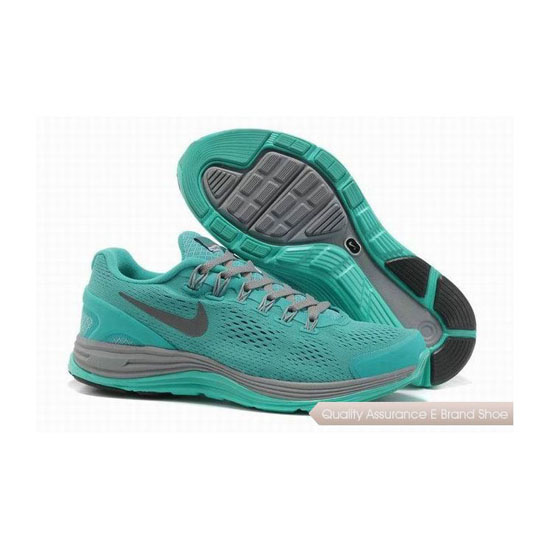 Nike Lunar Glide +4 Green Womens Sneakers