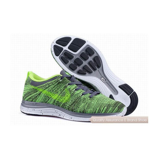 NIKE FLYKNIT 1 Green Mens Sneakers