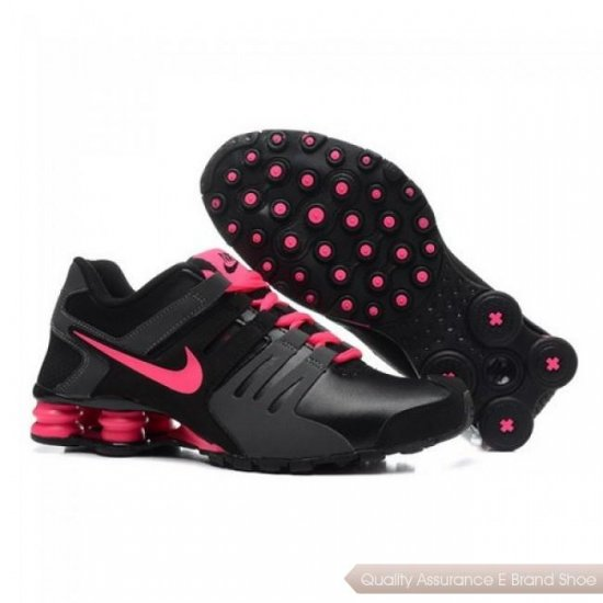 Nike Shox Current Women Black/Pink Running Shoes 1001