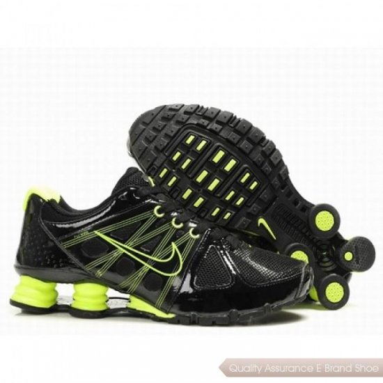 Nike Shox Agent Men Black/Electric Green Shoes 1005