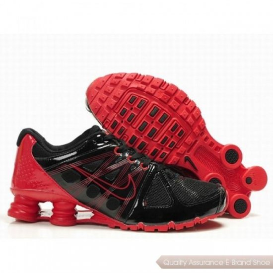 Nike Shox Agent Men Black/Varsity Red Shoes 1010