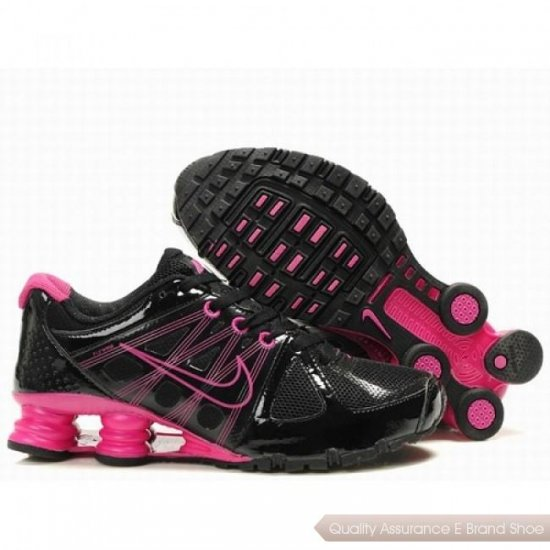 Nike Shox Agent Women Black/Peach Shoes 1003