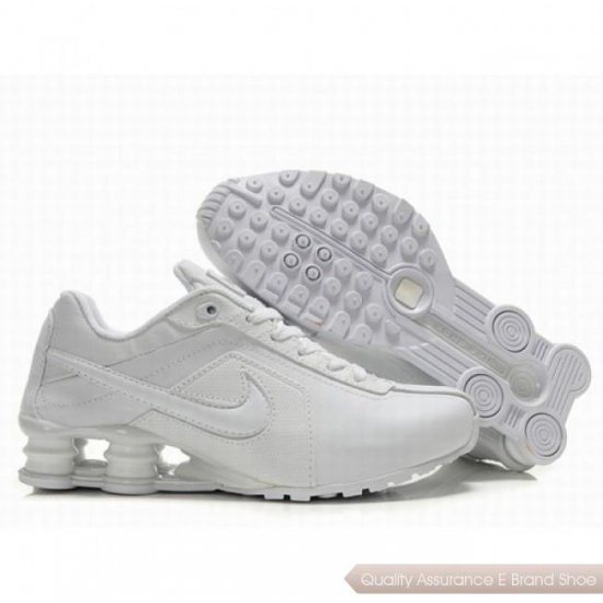 Nike Shoes R4 Women All White Shoes 1024