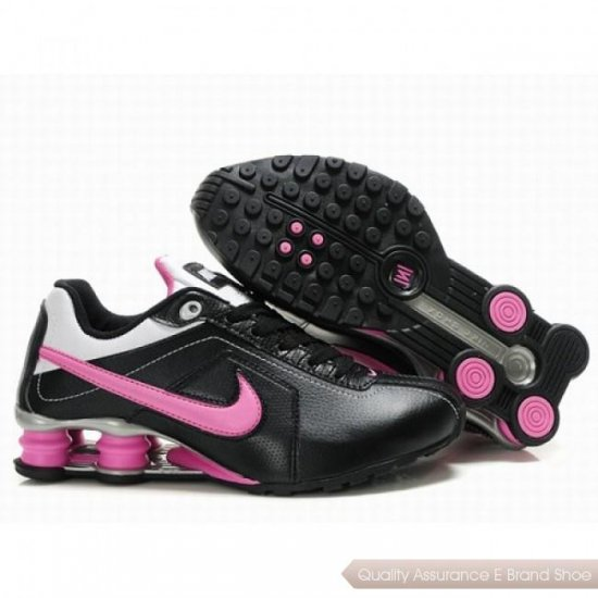 Nike Shoes R4 Women Black/Pink Shoes 1026