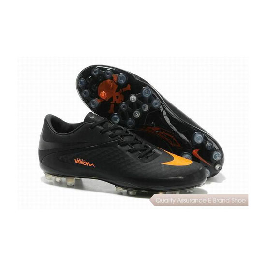 Nike Hypervenom ACC Phantom AG Cleats 2013 Black Orange