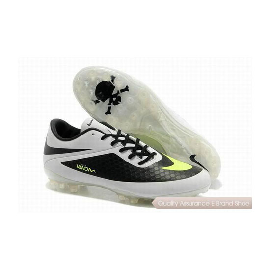 Nike Hypervenom ACC Phantom AG Cleats White Black Lime Green