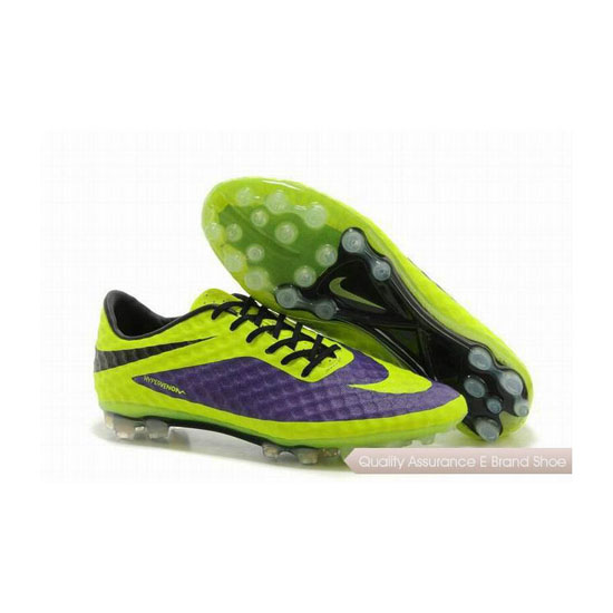 Nike Hypervenom Phantom ACC AG Cleats 2014 Purple Fluorescent Green