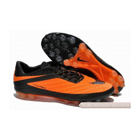 Nike HyperVenom Phantom AG Cleats 2013 Orange Black