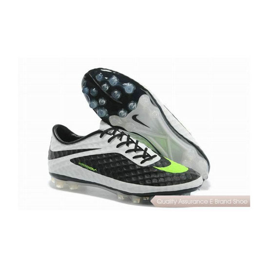 Nike HyperVenom Phantom AG Soccer Cleats 2014 Black Leo Lime White