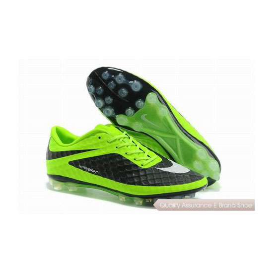 Nike HyperVenom Phantom AG Soccer Cleats 2014 Lime Black White