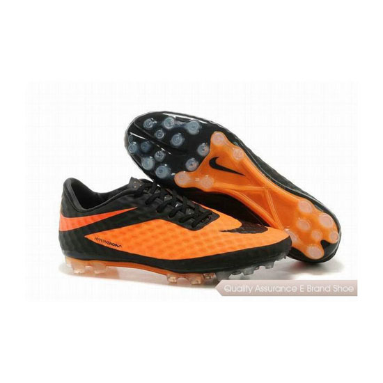 Nike HyperVenom Phantom AG Soccer Cleats 2014 Orange Black