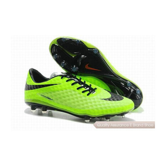 Nike Hypervenom Phantom FG Mens Soccer Cleats Lime Green Black