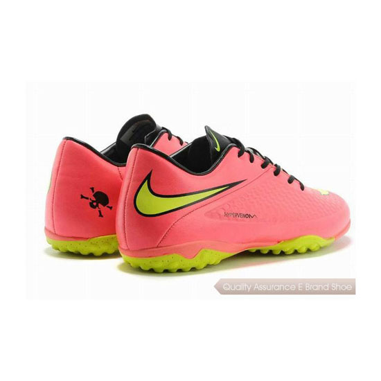 Nike HyperVenom Phantom TF Cleats 2014 Pink Yellow Black