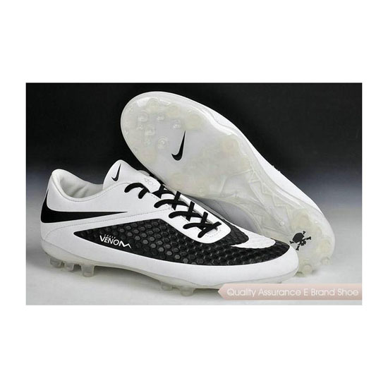 Nike Hypervenom Phelon AG Jnr Cleats 2014 Black White