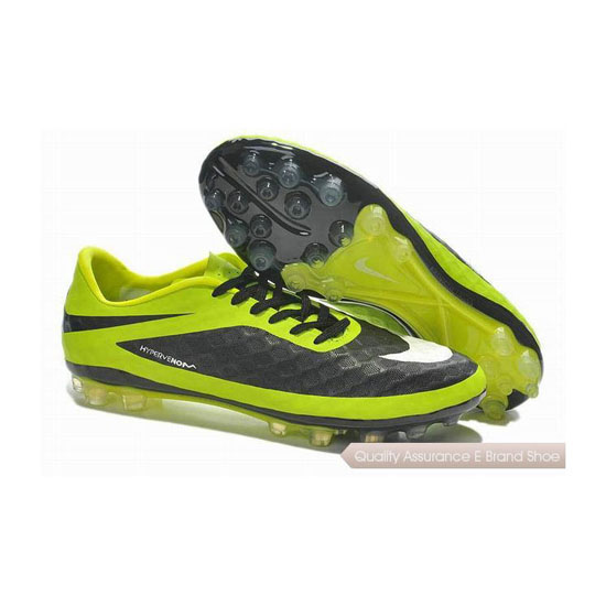 Nike Hypervenom Phelon AG Jnr Cleats 2014 Yellow Black White