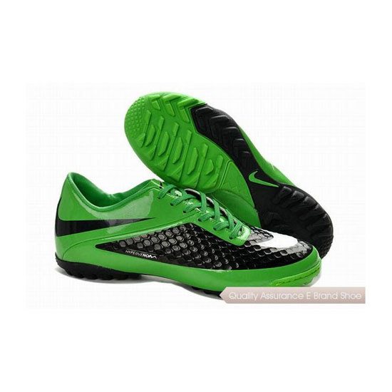 Nike Hypervenom Phelon TF Cleats Green Black