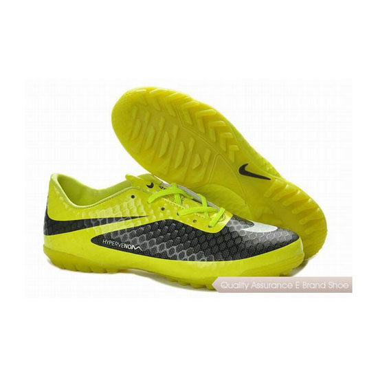 Nike Hypervenom Phelon TF Turf Soccer Cleats Yellow Black