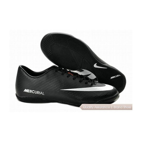 Nike Mercurial Victory IV ACC IC Indoor Soccer Shoes Black White