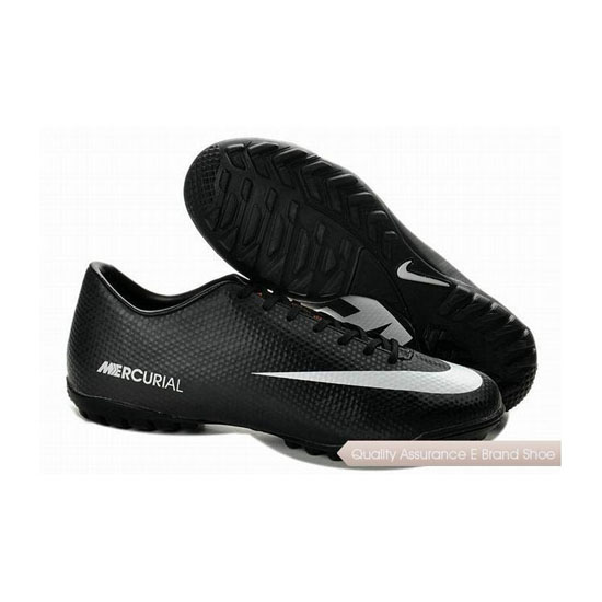Nike Mercurial Victory IV ACC TF Soccer Shoes Black White