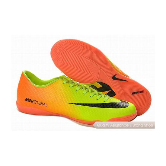 Nike Mercurial Victory IV IC Indoor Shoes Volt Black Citrus