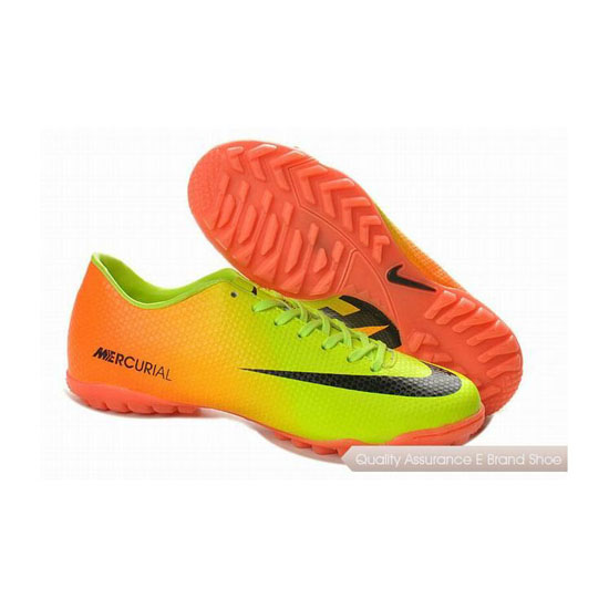Nike Mercurial Victory IV TF Shoes Volt Black Citrus