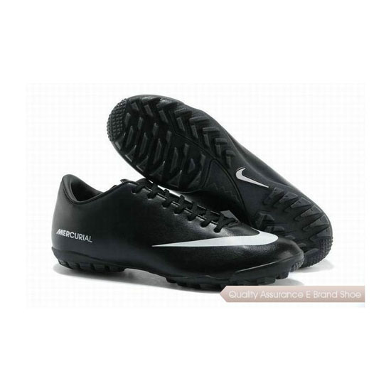 Nike Mercurial Victory IV TF Soccer Shoes Black White