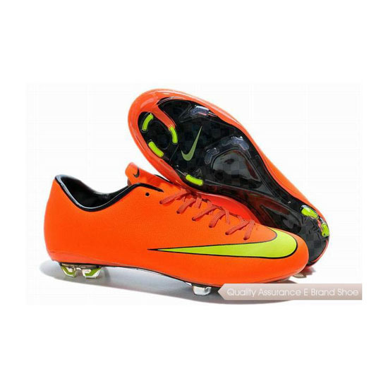 Nike Mercurial Victory X FG 2014 World Cup Soccer Cleats Orange Yellow