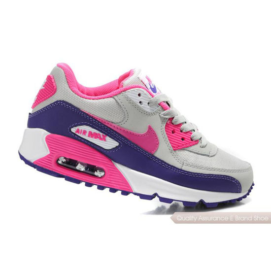 2014 Nike AIR MAX Womens Gray Pink Purple