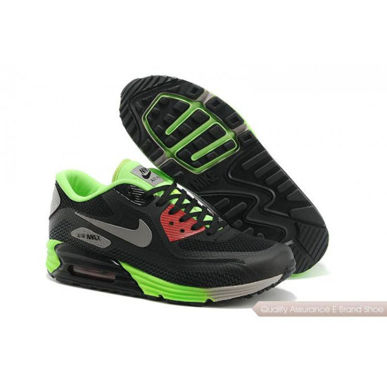 Nike Air Max 90 Lunar Mens Black Green Shoes