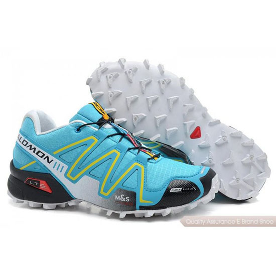 Salomon FUNCIONANDO Speedcross 3 Mens gray blue