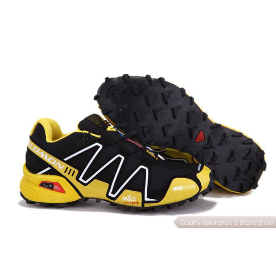 Salomon Mountain Trail-Running SPEEDCROSS 3 Men yellow black