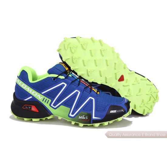 Salomon Mountain Trail-Running SPEEDCROSS 3 Mens blue orange