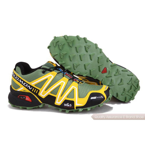 Salomon Mountain Trail-Running SPEEDCROSS 3 Mens in yellow