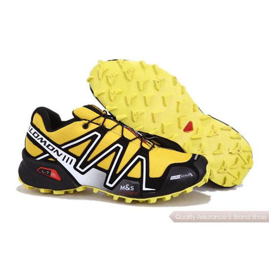 Salomon Mountain Trail-Running SPEEDCROSS 3 Mens yellow II