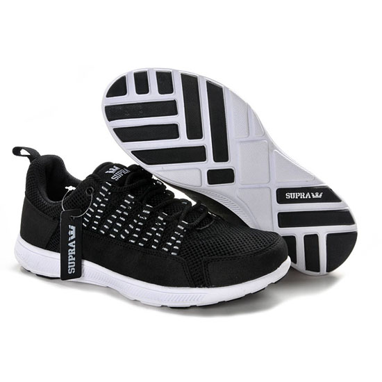 Supra Owen Footwear Fast Black White