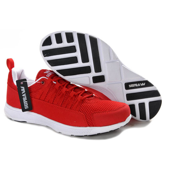 Supra Owen Footwear Mesh Red White