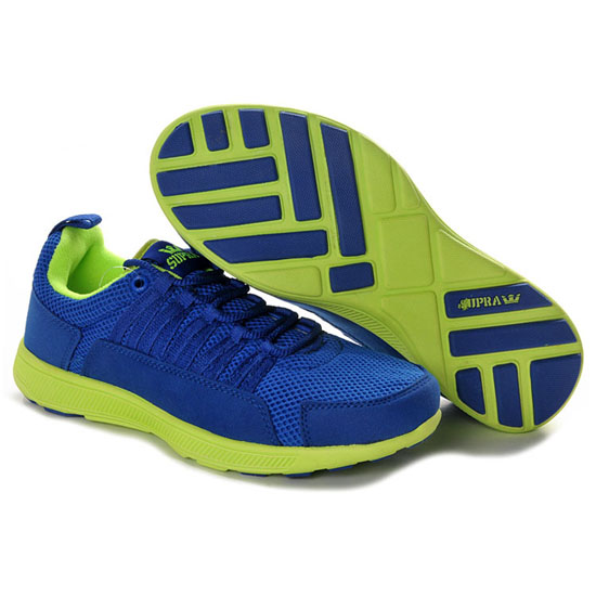 Supra Owen Footwear Royal Neon Green