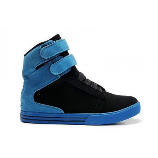 Supra Tk Society Footwear Black Blue Royal