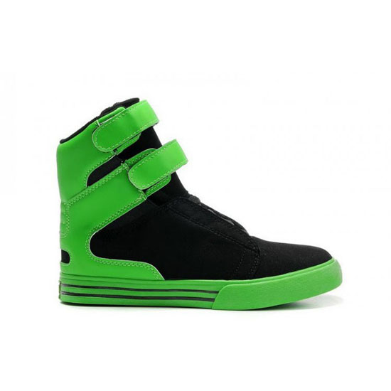 Supra Tk Society Footwear Black Green Green