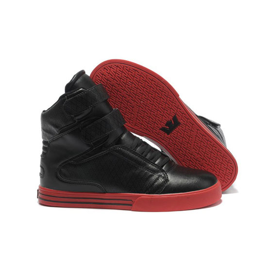 Supra Tk Society Footwear Black Perf Red