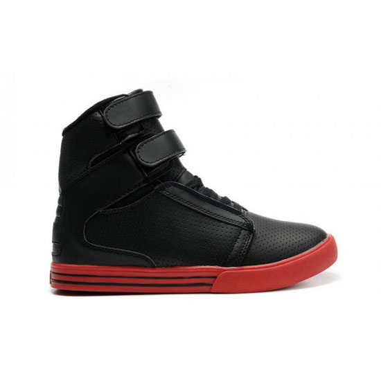Supra Tk Society Footwear Black Red