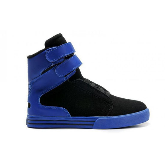 Supra Tk Society Footwear Black Royal