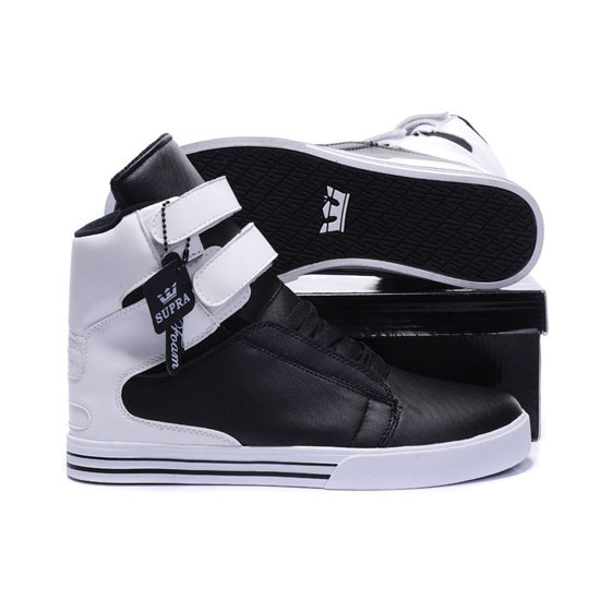 Supra Tk Society Footwear Black White