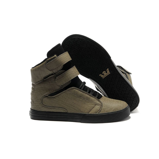 Supra Tk Society Footwear Cloth Black